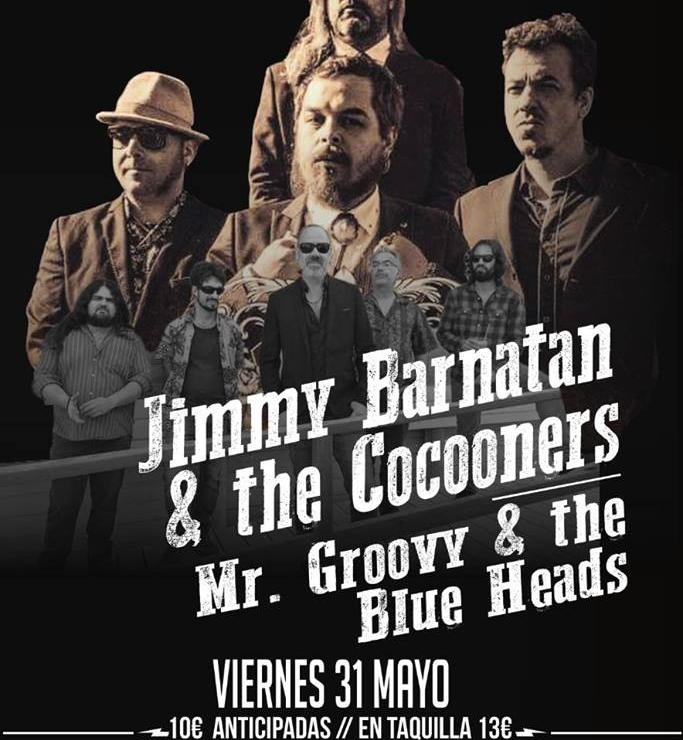 JIMMY BARNATAN & Cocooners + MR GROOVY & The Blue Heads